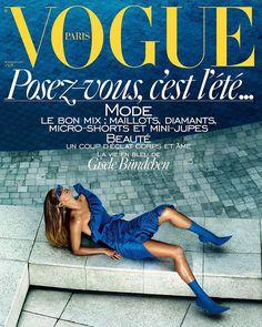 Gisele Bündchen by Mario Testino for Vogue Paris June/July 2017 Cover