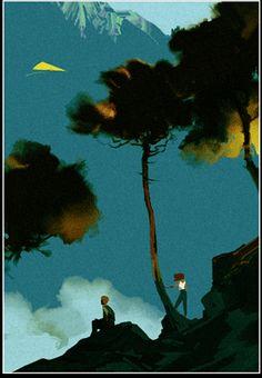 port205_06 - by Neil C. Ross Cityscape Art, Alien Worlds, Visual Development, Environmental Art, Stop Motion, Illustration Art, Illustrations, Art Google, Game Design