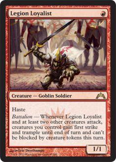 4 Goblin Dynamo ~ Red Legions Mtg Magic Uncommon 4x x4