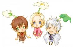 BTT! Prussia and his awesome leaf~! ^^