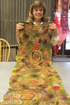 Abstract Collage Workshop with Sharon - The Tin Thimble