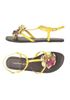Madden Girl: I have been crazy about cute sandals lately