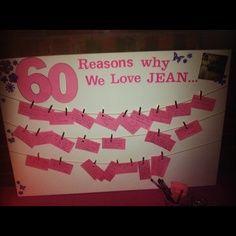 60 reasons why we love....
