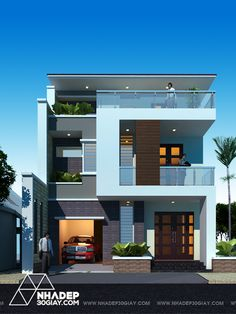 House Elevation, Front Elevation, 20x30 House Plans, 3 Storey House Design, Bungalow Exterior, Home Bar Designs, House Front, Mansions, Architecture
