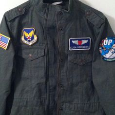 Wife air force jacket