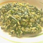 #Risotto agli #spinaci e #parmigiano