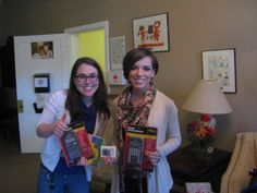 Maggie and Allie with COFC's Center for Civic Engagement brought by these donations of school supplies and a Walmart gift card for our youth on Dec. 19.  Thank you for all the Center does on behalf our youth, from volunteering to giving donations like these.
