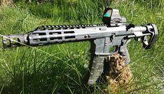 #cerakoteMADness for @jonesarms 300 Blackout Pistol! This one is Stealth Gray with an @sbtactical 3 Position Brace. The @holosunoptics 510C really finishes it off! -- #guns #ar #pistol #cerakotemadness #stealth #firearms #gunporn #sickguns #gunfeed #gatfeed #gunchannels #igmilitia #pewpew #300blackout #gunsofinstagram #weaponsdaily #weaponsfeed #badass #badassguns #sickgunsdaily #pistolporn #2a #2ndamendment #arpistols