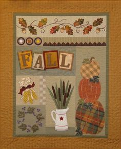 Fall Quilt Block a Month For 8 Months Join Now!