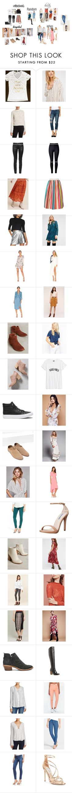 """""""Photo Shoot"""" by pamelynrocco on Polyvore featuring Free People, Tracy Reese, Paige Denim, Balenciaga, WithChic, Ne Quittez Pas, Alice + Olivia, Halston Heritage, Majorelle and L'Academie"""