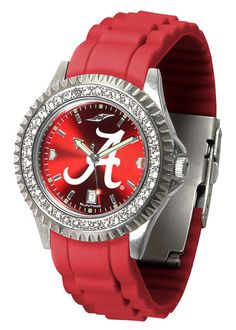 Alabama Crimson Tide Sparkle Watch With Color Band