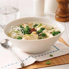 Soupe-fondue Asian Recipes, Ethnic Recipes, Vegetable Recipes, Spaghetti, Chou Kale, Vegetables, Food, Simple, Pains