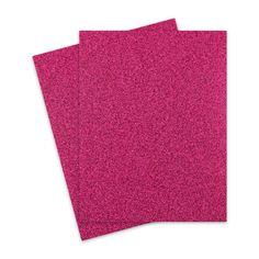 Glitter Paper - MAGENTA Glitter Letter Size - 10 PK Specialty coated glitter paper for durability and no shedding. colorful glitter which cuts n Letter Size, All The Colors, Magenta, Card Stock, Card Making, Size 10, Glitter, Scrapbook, Colours