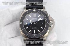 Panerai PAM 1389 Titanium XF Best Edition Black Ceramic Bezel Black Dial P.9010