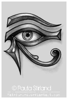 Crying Eye of Ra by hatefueled.deviantart.com on @deviantART
