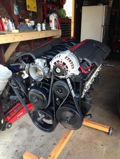 5.3L Build Ls1 Intake With Truck Accessories. LQ9 LQ4 L92 TRUCK engines with corvette coil covers and intake