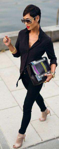 Cool Black Fashion Inspiration & looks