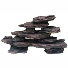Rock Stack Aquarium Ornament