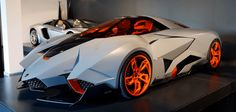 The futuristic-looking Lamborghini Egoista will be on permanent display at the Lamborghini Museum in Sant-Agata Bolognese, Italy, according to a press rele