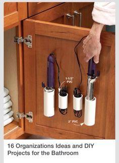 DIY Storage Ideas For The Bathroom