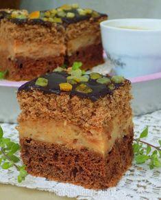 Polish Cake Recipe, Polish Recipes, Sweet Recipes, Cake Recipes, Nutella, Good Food, Yummy Food, Breakfast Menu, Happy Foods