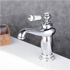 Delta Classic 4 in Centerset 2 Handle Bathroom Faucet in Chrome