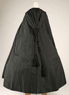 Cape, ca 1860's, American, silk  MM collection