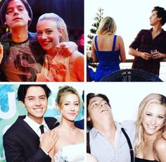!!!!!!!! #bughead #liliandcole #sprousehart Lili Reinhart and Cole Sprouse