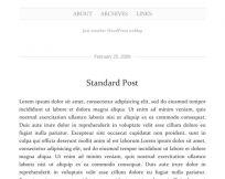 Manifest WordPress Theme