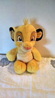 "The Lion King Baby Cub Simba Plush Doll Disney Stuffed Animal 11"" 1994 #Disney"