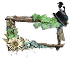 estilo vintage, estas imágenes con fondo transparente para arte digital te van a encantar. Son variadas, y se caracterizan por tener aves, flores y tonos bordó, verde, ocres.