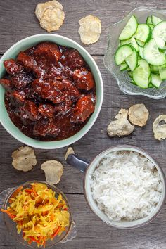 Learn what are Chinese Meat Food Preparation Healthy Slow Cooker, Quick Healthy Meals, Healthy Crockpot Recipes, Spicy Recipes, Meat Recipes, Slow Cooker Recipes, Asian Recipes, Dinner Recipes, Indonesian Recipes