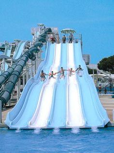 Fire Slide - Aquasplash Lignano Sabbiadoro Italy