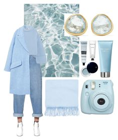 """Blue Christmas"" by ivana-andrejic ❤ liked on Polyvore featuring Michael Kors, Dorothy Perkins, Étoile Isabel Marant, Jil Sander, MANGO, Fujifilm, Dolce&Gabbana, Clé de Peau Beauté, Pippa Small and Rodin"