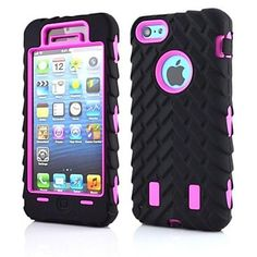 This Hot sale Silicone and PC Tyre Texture Style Cute Back Case Cover for iPhone 6 - 4.7 inches iPhone 6 Plus 5.5inches perfectly fits the contour of your modish device, making it gorgeous and safe to hold anywhere you go. Stylish cutouts expose vital features and ports for instant use.