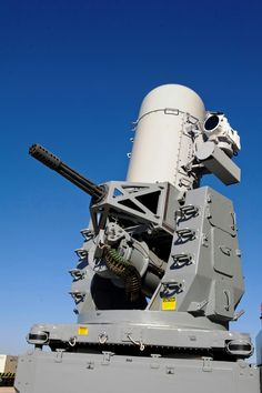 Phalanx aka CIWS automatically carries out functions performed by multiple systems: search, detection, threat eval, tracking, engage and kill assessment. The Block 1B version of Phalanx adds control stations that allow operators to visually track and ID targets before engagement using a forward looking infrared sensor. It allows Phalanx to be used against helicopters and high-speed surface craft at sea while the land-based version helps identify and confirm incoming dangers.