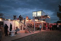 Shipping Containers for Community: KontenerART 2012 in architecture Category Backyard Restaurant, Container Restaurant, Container Bar, Container Design, Container Houses, Used Shipping Containers, Shipping Container Homes, Container Architecture, Industrial House