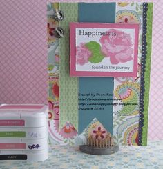 CTMH Floral Happiness SOTM 3-2013 I Am A Happy Stamper: