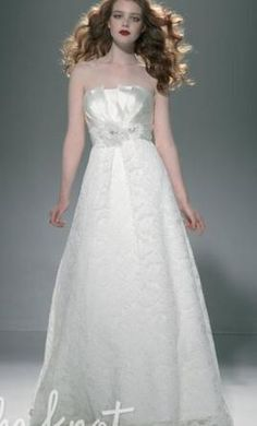 Justin Alexander 9657 10: buy this dress for a fraction of the salon price on PreOwnedWeddingDresses.com