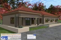 House Layout Plans, My House Plans, Luxury House Plans, Bedroom House Plans, House Layouts, House Floor Plans, Flat Roof House Designs, Modern House Design, Italian Farmhouse Decor
