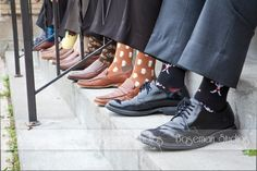 Paul and all the Groomsman are taking a picture like this with the awesome socks I got them to wear :)