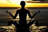 silhouette of woman on rock in the sunset sea in a classic yoga pose Stock Photo - 4652966 Sunset Sea, Woman Silhouette, Inspiring Quotes About Life, Inspirational Quotes, Sport, Yoga Meditation, Yin Yoga, Courses, Chill Pill