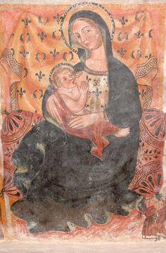 """Monte Massico ed il territorio tra i fiumi Garigliano e Volturno: Alcuni esempi iconografici della Madonna del Latte o """"Virgo lactans"""" nel territorio massicano"""