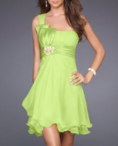 MacKenzie - I can see you in this style! I don't even care if you do bright green if you want. It's all green to me!