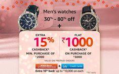 30% - 80% off | Men's watches