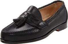 Allen Edmonds Men's Maxfield Tassel Loafer Allen Edmonds. $241.00. Made in USA. Braided accents and vintage tassels separate this loafer with an updated style with timeless appeal.. Leather sole. leather. Full leather lining for improved comfort and fit