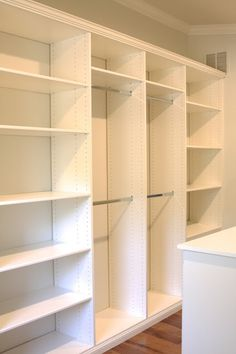 simply organized: master closet build-out