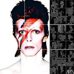 DAVID BOWIE ..... 100% LIVING ART .....