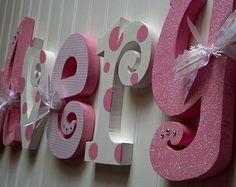 Decoración cuarto de niños regalo del bebé por RachelsWoodBarn