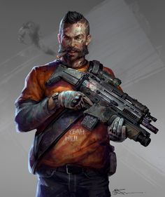 ArtStation - Get your weapon Hostages, jeremy chong